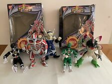 Vintage assorted Power Rangers and bad guys lot of 5