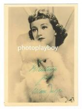 ARLINE JUDGE PERT LIVELY & MARRIED 8 TIMES AUTOGRAPH MOVIE PORTRAIT SIGNED 1936