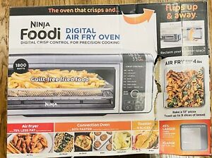 Ninja Foodi SP101 1800W Digital Air Fry Oven - Stainless/Black NIB