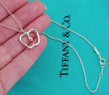 Tiffany & Co Elsa Peretti Sterling Silver APPLE Pendant Necklace