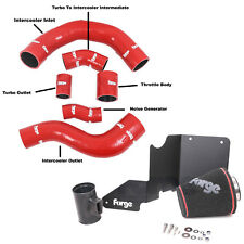 FORGE IN SILICONE BOOST TUBO FLESSIBILE KIT + Kit Di Induzione Di Aspirazione Ford Fiesta ST180 1.6 T Rosso