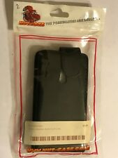 BLACK NOKIA LUMIA 800 MOBILE PHONE FLIP POUCH CASE PU LEATHER WALLET