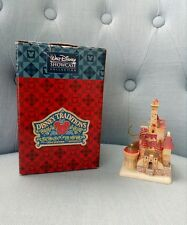 Jim Shore Disney Traditions Beauty Beast CASTLE ENCHANTED KINGDOM castello mini