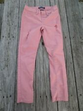 Blue Spice ~ Girls Rose Pink Distressed Pants ~ Size 10