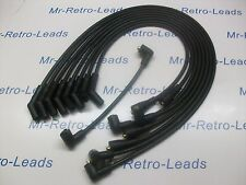 BLACK 8MM PERFORMANCE IGNITION LEADS TRIUMPH STAG 3.0 V8 QUALITY HAND BUILT HT