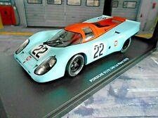 PORSCHE 917 K KH Kurzheck 1970 Le Mans #22 Hobbs Hailwood Gulf Wyer CMR 1:18