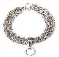 Armband BELLATRIX Chain Bracelet Ring of O O-Ring Slave Sklave SM BDSM 51014