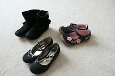 Lot of 3 girls shoes in size 10 Mary Jane dress casual boot