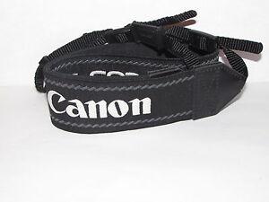 Canon EOS Digital Camera Strap Neck Shoulder Gemuine Black-White B10821