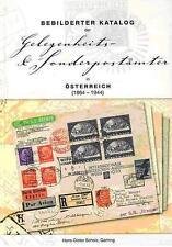 Katalog Sonderstempel Österreich 1864 bis 1944 + Gelegenheits- & Sonderpostämter