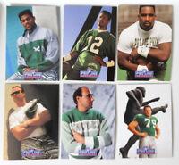 1991 Pro Line Portraits Philadelphia Eagles Team Set of 6 Football Cards No 48