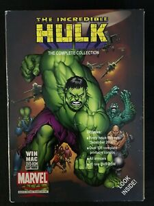 Incredible Hulk Complete Collection, 1 GIT CORP DVD-ROM, Marvel, 535 comics, Hot