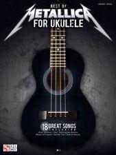 Best of Metallica for Ukulele Sheet Music Heavy Metal Rock 18 Songs Uke Book New