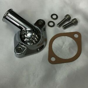 DATSUN 1200 WaterOutlet Chrome Thermostat Housing (For NISSAN B110 A12 A14 A15)