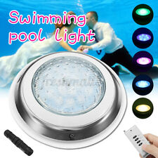 54W Underwater Swimming Pool SPA Light Waterproof RGB 7Color LED Remote