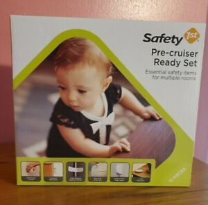 Safety 1st Pre-Cruiser Ready Set With 12 Babyproofing Aids, White