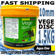 Aqua One Aquarium Fish Food Catfish Algae Vege Spirulina Wafers Bulk 1.5kg
