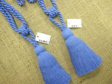 Alzapaños color principal azul para cortinas