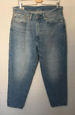 Levi's 562 Premium Blue Loose Tapered Jeans 34W 32L Mens URBAN OUTFITTERS New