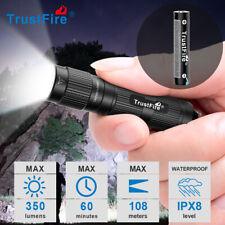 Trustfire LED Mini3 Taschenlampe mit Schlüsselanhänger-durch 1x10440-Batterie DE