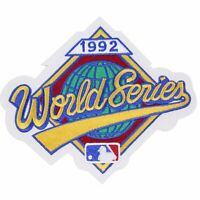1992 MLB World Series Logo Jersey Patch Atlanta Braves vs. Toronto Blue Jays