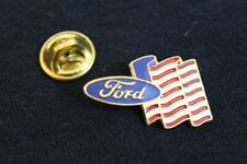 Ford Oval US Flag Hat Lapel Pin Accessory Fits F150 Ranger F250 Badge Fairlane