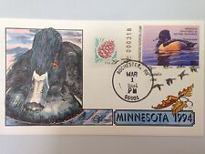 COLLINS H/P FDC 1994 MINNESOTA MILFORD DUCK - RARE