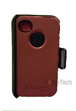Original Peony Pink Deep Plum Otterbox Defender Case Holster for iPhone 4 4S