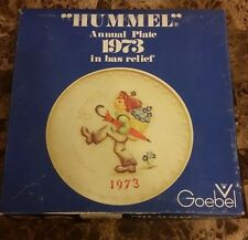 1973 First Edition Hummel Annual Plate Globe Trotter Plate Brand New Old Stock