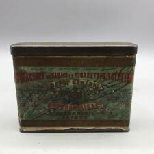Vintage Depot General Gourdoulis Cigarettes Tobacco Box Tin Design Packaging