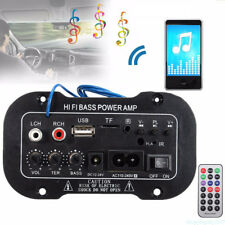 Performance Autor Subwoofer Hi-Fi Bass Power Amplifier Board TF USB Bluetooth US