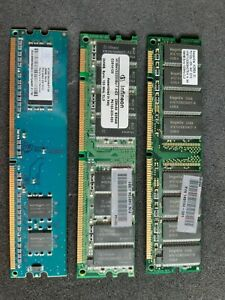 Job Lot Of 256mb Ram, gold recovery opportunity.
