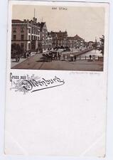GERMANY Old tarjeta postal GRUSS OF OLDENBURG- AM STAU