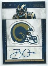 2012 Prominence Brian Quick AUTO AUTOGRAPH RC #241 116/200 RAMS