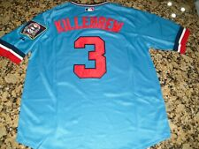 New! Harmon Killebrew Minnesota Twins #3 Retro Blue Pull-Over Baseball Jersey XL