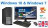 FAST CHEAP DELL/HP CORE i5 DESKTOP FULL SET PC & TFT 16GB WINDOWS 10 240GB SSD