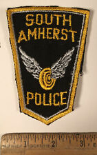 Vintage South Amherst Ohio Police Department Officer Shoulder Patch Sew On