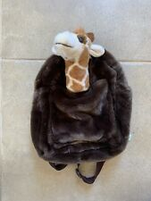 Geoffrey Giraffe Backpack Toys R US Time Square New York Plush Excellent ~RARE