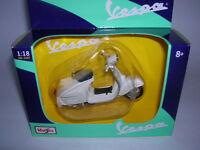 Maisto Piaggio Vespa 125 GT Gran Turismo Modell 1966 weiss white 1:18 Art 31540