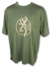 Mens NWT Browning Grapple Tee Buckmark Performance T-Shirt Clover Green Size L
