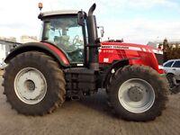 Massey Ferguson 8700 Series Tractors - Workshop Manual.