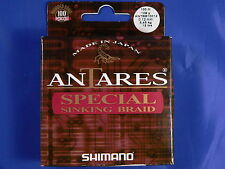 Shimano Antares special sinking braid 0,12 5,45 kg 100mt spinning casting feeder