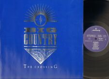 BIG COUNTRY The Crossing LP 1983 HOLLAND Lyrics-sleeve