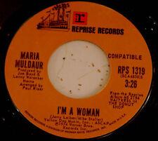Maria Muldaur 45 I'm A Woman / Cool River