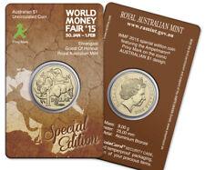 Australien - 1 Dollar 2015 - Känguru WMF Berlin Prägezeichen DDR Ampelmann - ST