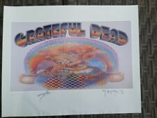 Grateful Dead Europe 72 Poster S & N By Mouse & Kelley Dead & Company