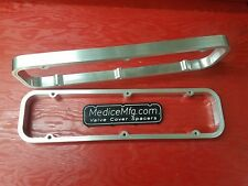 """VALVE COVER SPACERS 1"""" Small Block Buick 350 SBB with GASKETLOK"""