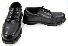 Skechers Shoes Exalt Forge Textured Leather Black Sneakers Size 10 Wide