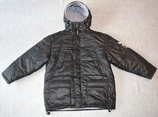 Mills Kinderjacke Winterjacke schwarz Gr.-152 mit Kapuze Regenjacke