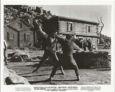 THE BIG GUNDOWN Lot 2 Original Movie Photos LEE VAN CLEEF TOMAS MILIAN 1966